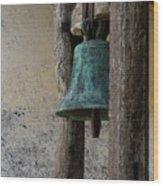 Old Bronze Bell Wood Print