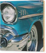 Old Chevy Wood Print by Steve Karol