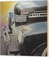 Old Chrysler Wood Print
