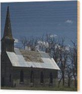 Old Church Wood Print