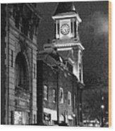 Old City Hall Wood Print