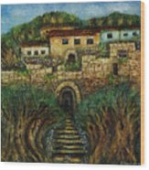 Old City's Gate Wood Print