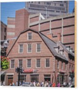 19- Old Corner Book Store Eckfoto Boston Freedom Trail Wood Print