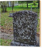 Old Country Cemetery Wood Print