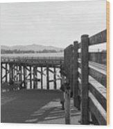 Old Dock Wood Print