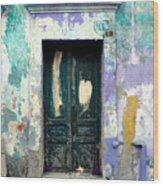 Old Door 4 By Darian Day Wood Print by Mexicolors Art Photography