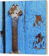Old Door Photograph Wood Print