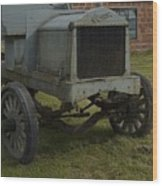 Old Flat Bed Truck Wood Print
