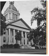 Old Florida State Capitol Wood Print