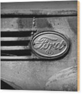 Old Ford 85 Wood Print