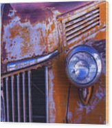 Old Ford Pickup Wood Print