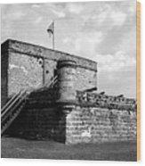 Old Fort Matanzas Wood Print