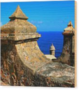 Old Fort Puerto Rico Wood Print