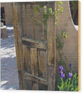 Old Gate Wood Print
