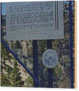 Old Geiger Grade Nevada Wood Print