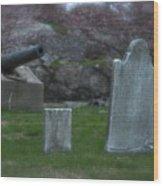 Old Graves Wood Print