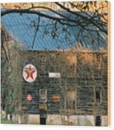 Old Grist Mill Wood Print