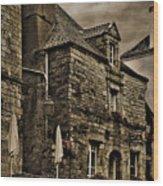 Old House - Rochefort-en-terre - La Bretagne Wood Print
