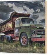 Old International Wood Print