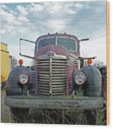 1946 International Truck Wood Print