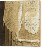 Old Lace Wood Print