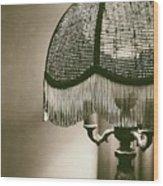 Old Lamp Wood Print