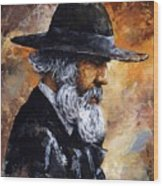 Old Man Wood Print by Emerico Imre Toth