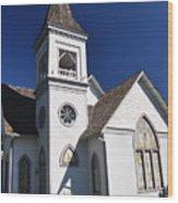 Old Methodist Church Wood Print
