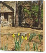 Old Mill At Berry College Wood Print