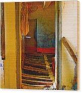 Old Monks Room Wood Print