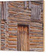 Old Mormon Barn Wood Print