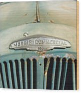 Old Morris Commercial Wood Print