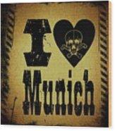 Old Munich Wood Print