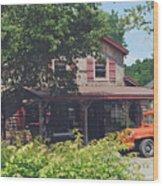 Old Nashville Wood Print
