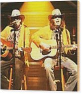 Old Neil And Young Neil Together Wood Print
