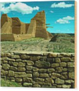 Old New Mexico Wood Print
