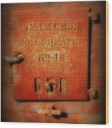 Old Number 16 Wood Print