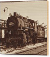 Old Number 519 Wood Print