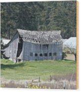 Old Oak Harbor Barn Ba 9209 Wood Print