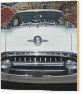 Old Oldsmobile Wood Print