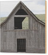 Old Oregon Barn Wood Print