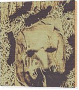 Old Outback Horrors Wood Print