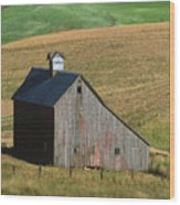 Old Palouse Barn Wood Print