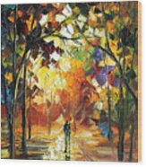 Old Park Wood Print