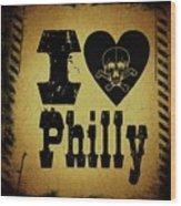 Old Philadelphia Wood Print
