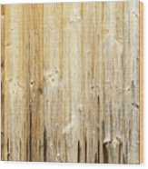 Old Planked Wood Used As Background Wood Print