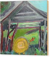 Old Plyler Mill Haybard Wood Print