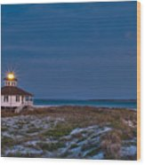 Old Port Boca Grande Lighthouse Wood Print by Rich Leighton