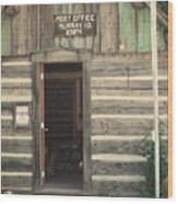 Old Murray Post Office Wood Print