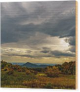 Old Rag - Calm Before The Storm Wood Print